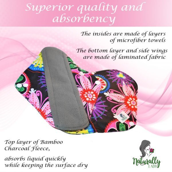 Reusable sanitary towels