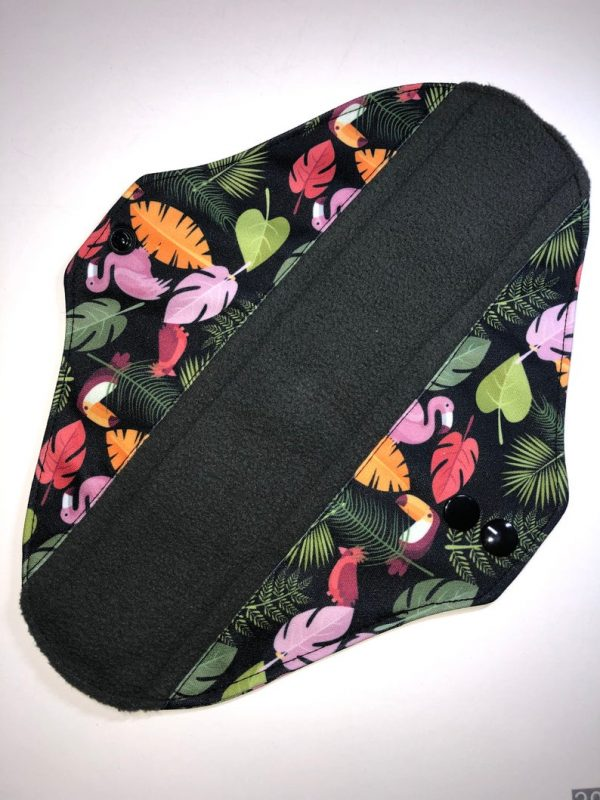 made to order reusable sanitary towels jungle print