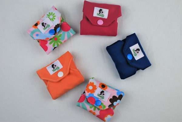 6 close reusable sanitary pads