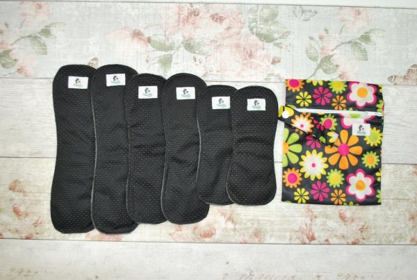 Reusable Sanitary Pads Wingless Non-slip