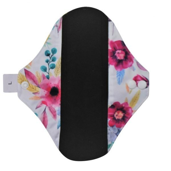 Floral reusable sanitary pads